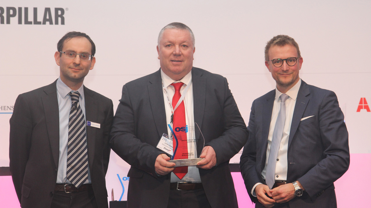 Photo of MacGregor 3D Motion Compensator wins offshore industry innovation award