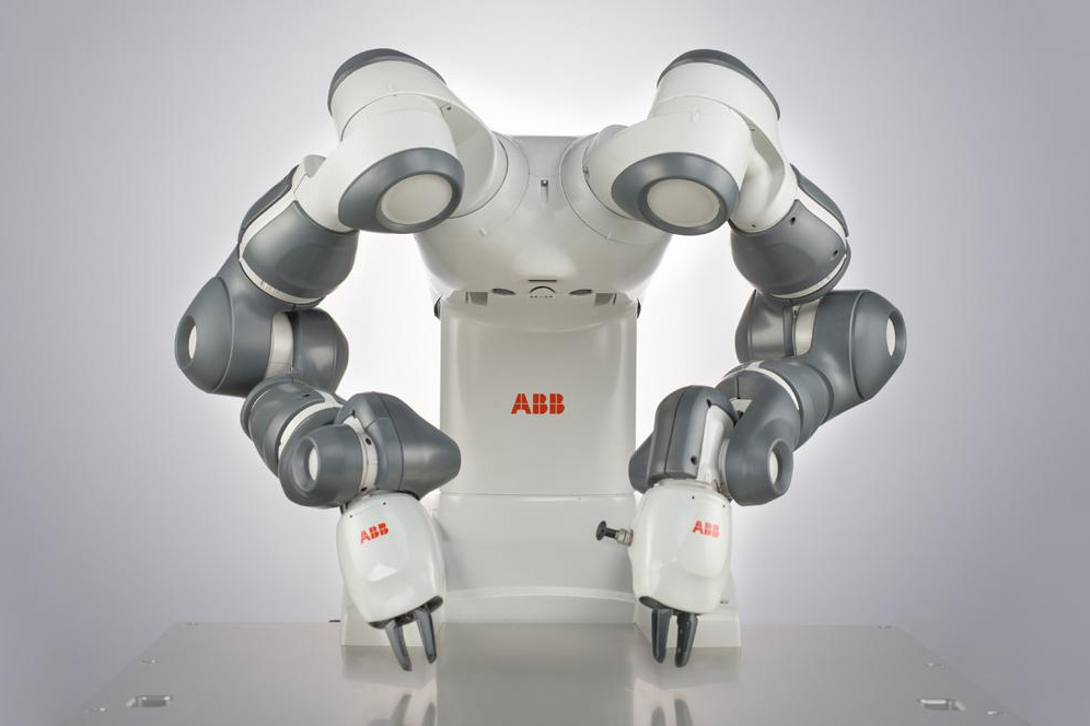 Photo of ABB first robotics centre in Romania