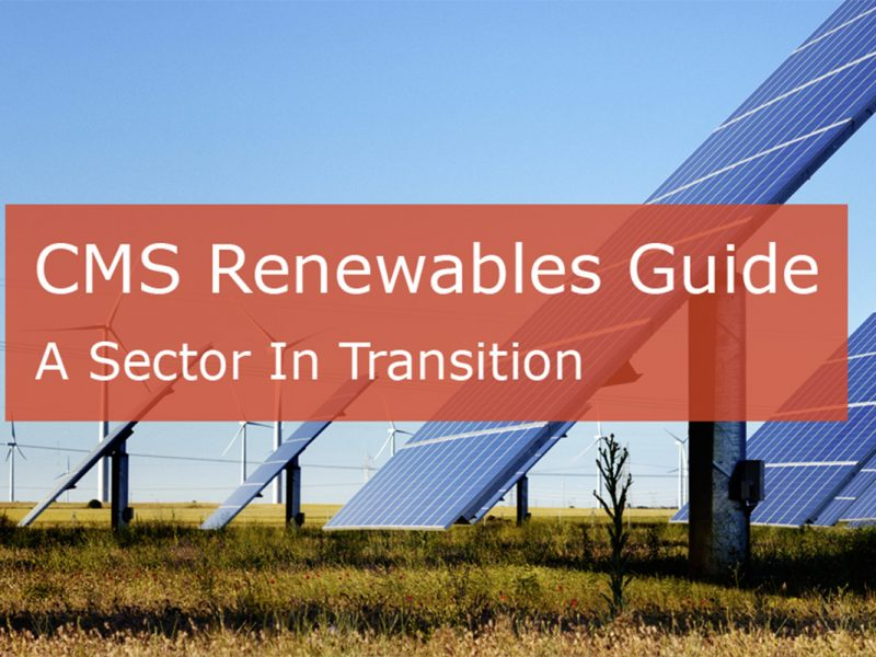 CMS Renewables Guide