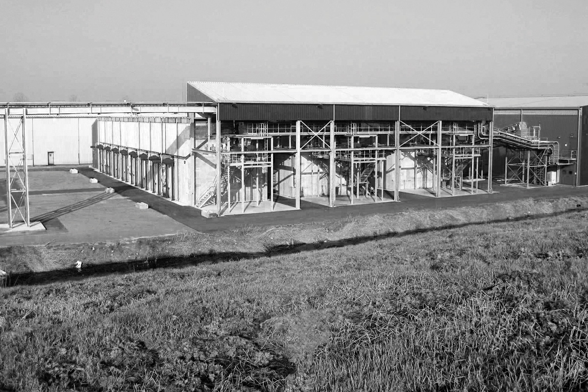Photo of Europe's largest bio waste digestion plant