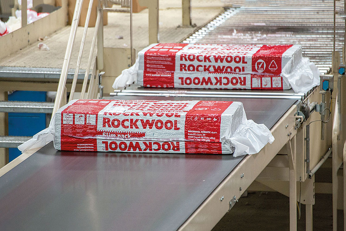 Photo of ROCKWOOL's first stone wool factory in Romania