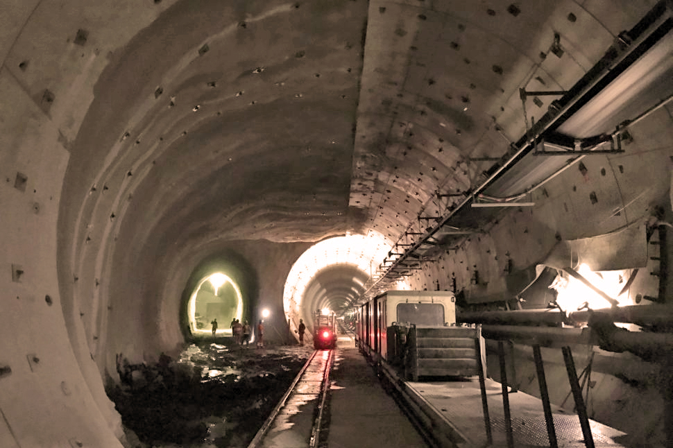 Photo of Tunnelling works for northern tube of Koralm Tunnel completed