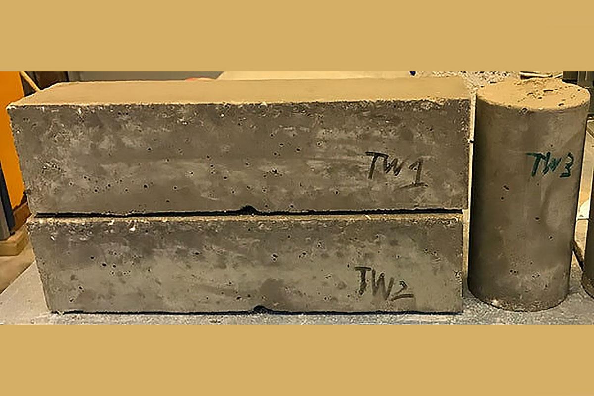 Photo of Innovative new 'green' concrete using graphene