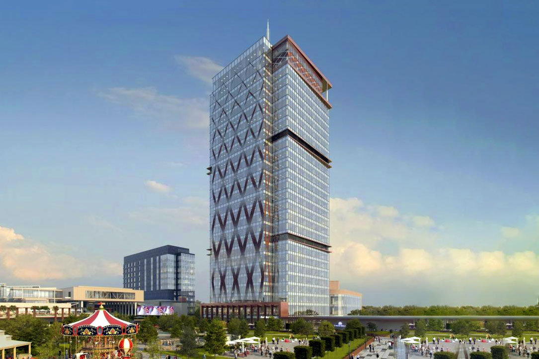 Photo of United Business Center 0, the tallest office building in Romania