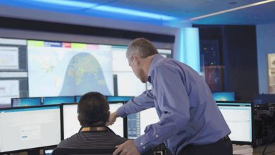 Photo of GE's new digital center