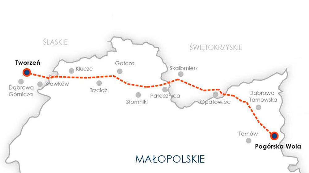 Pogorska-Wola-Tworzen-gas-pipeline