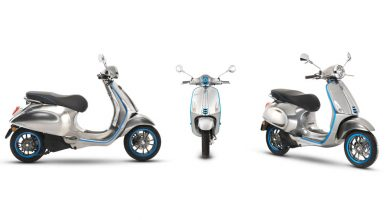 Photo of Vespa Elettrica to enter production in September