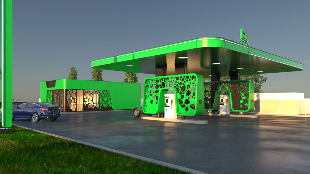 First-public-CNG-power-station-in-Bucharest