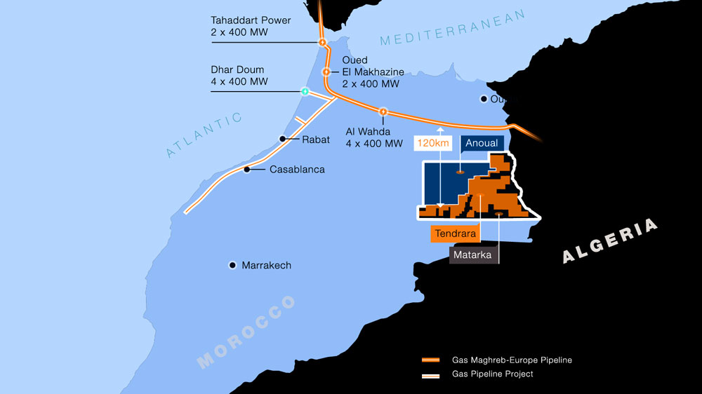 Sound Energy awarded production concession for Tendrara gas