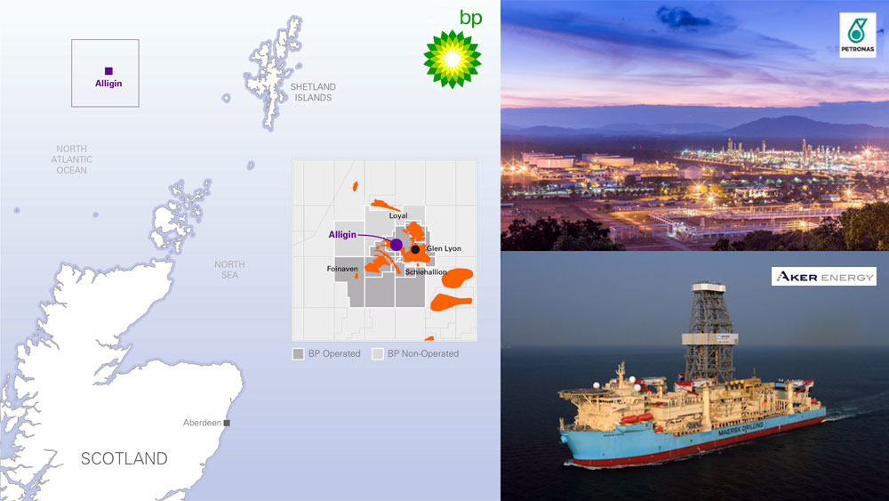 BP gets approval for Alligin development   Woodside signs agreement with China's ENN   Malaysia's Petronas agrees to buy 10 pct in Oman's Khazzan   Drillship Maersk Viking has arrived Ghanaian Waters