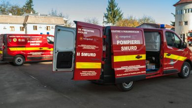 Photo of KMG International donates two mobile training centres for SMURD