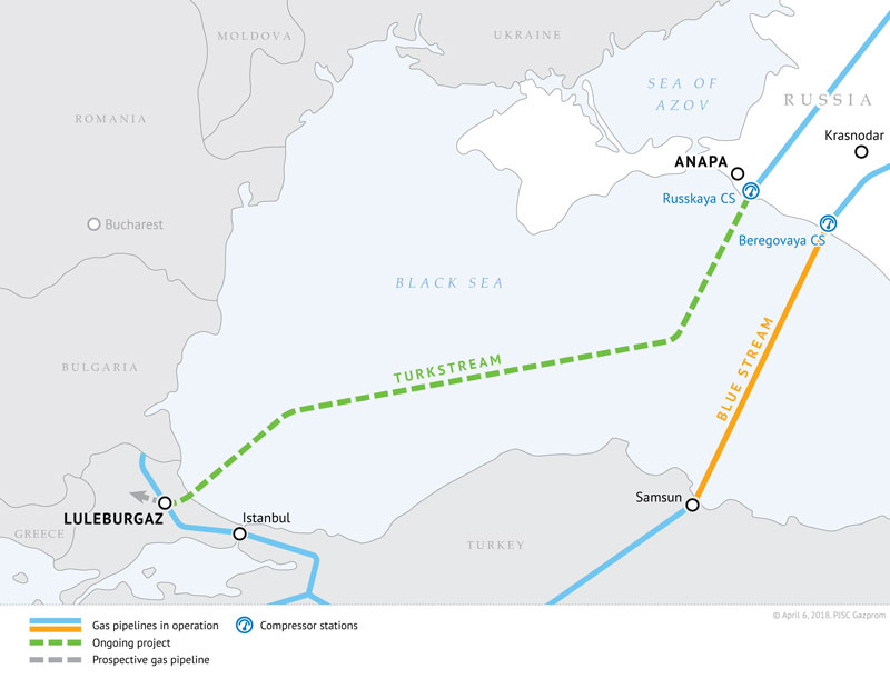 Layout-of-TurkStream-gas-pipeline