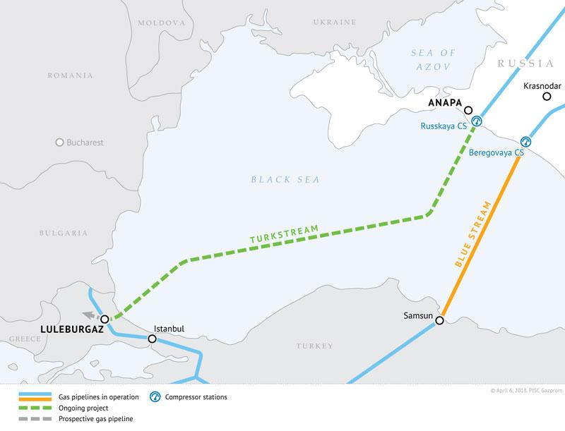 Layout-of-TurkStream-gas-pipeline