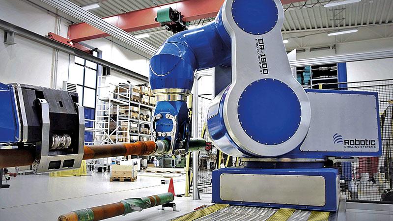 Electric-Drill-Floor-Robot