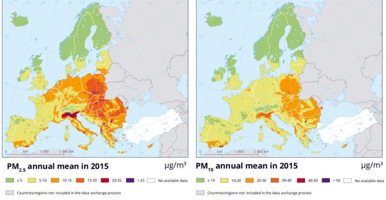 Exposure To Air Pollution During >> Pollution In Eu Wreaking Havoc On Human Health