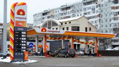 Photo of A new Rompetrol gas station in Chisinau