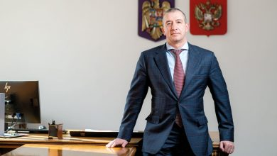 Photo of Aleksey Kovalenko: Focusing on production and employees' well-being