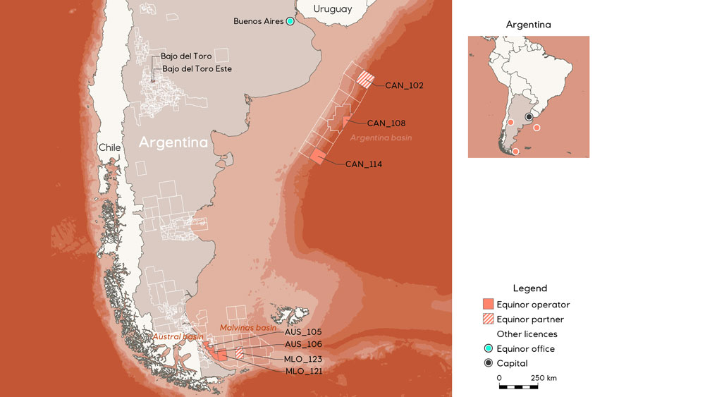 Argentina's first offshore bid round