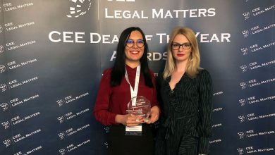 Photo of Ijdelea Mihailescu wins Deal of the Year Award for Romania at the CEE Legal Matters Regional Award Gala