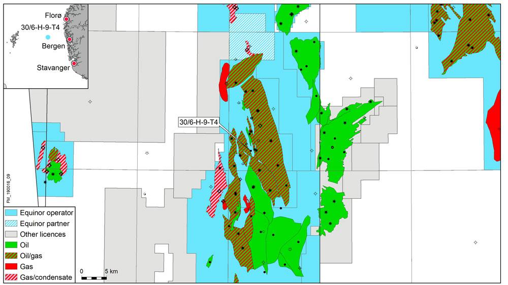 Oseberg Vestflanken map of the area   © Equinor