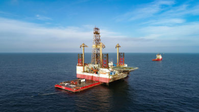 Photo of First Decommissioning of an Offshore Platform in Romania