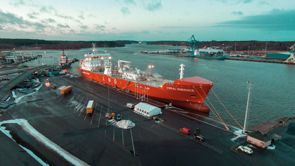 Record-on-the-Liquefied Natural Gas Market