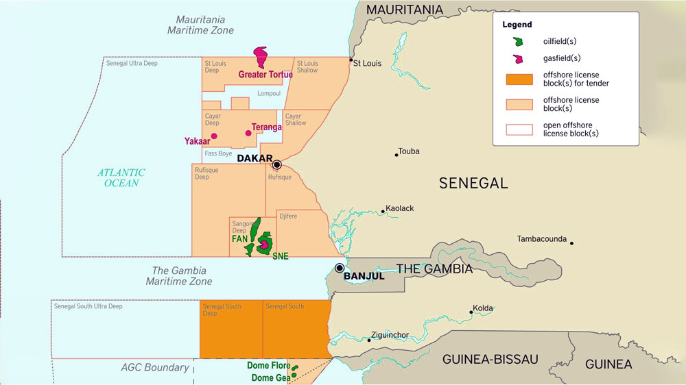 Senegal-to-Offer-12-Blocks-in-New-Offshore-Licensing-Round