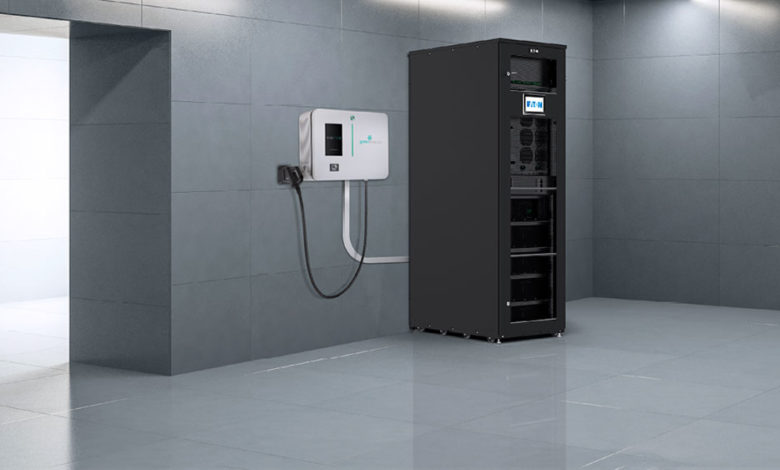 Eaton-and-Green-Motion-to-Integrate-EV-Chargers-in-Buildings-with-Energy-Storage