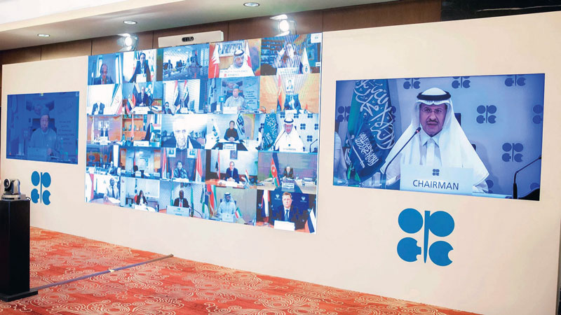 OPEC + meeting during COVID19