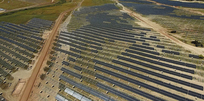 In the middle of the COVID19 crisis a Spanish 500-megawatt solar PV plant, described as 'Europe's largest', sent its first megawatt hour of energy to the grid