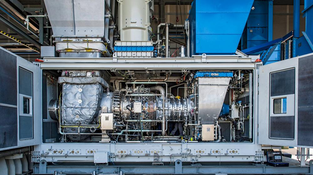 Baker-Hughes-snam-Worlds-First-Hydrogen-Blend-Turbine-for-Gas-Networks