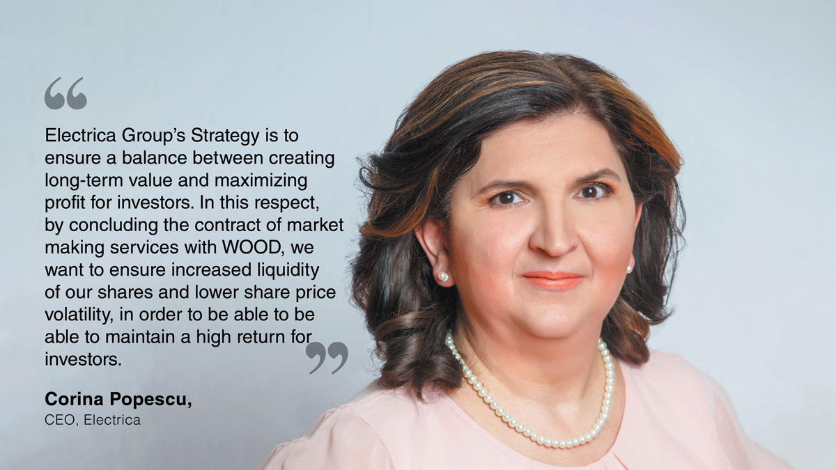 Corina-Popescu-WOOD-Company-Financial-Services-to-Act-as-Issuer-Market-Maker-for-Electrica