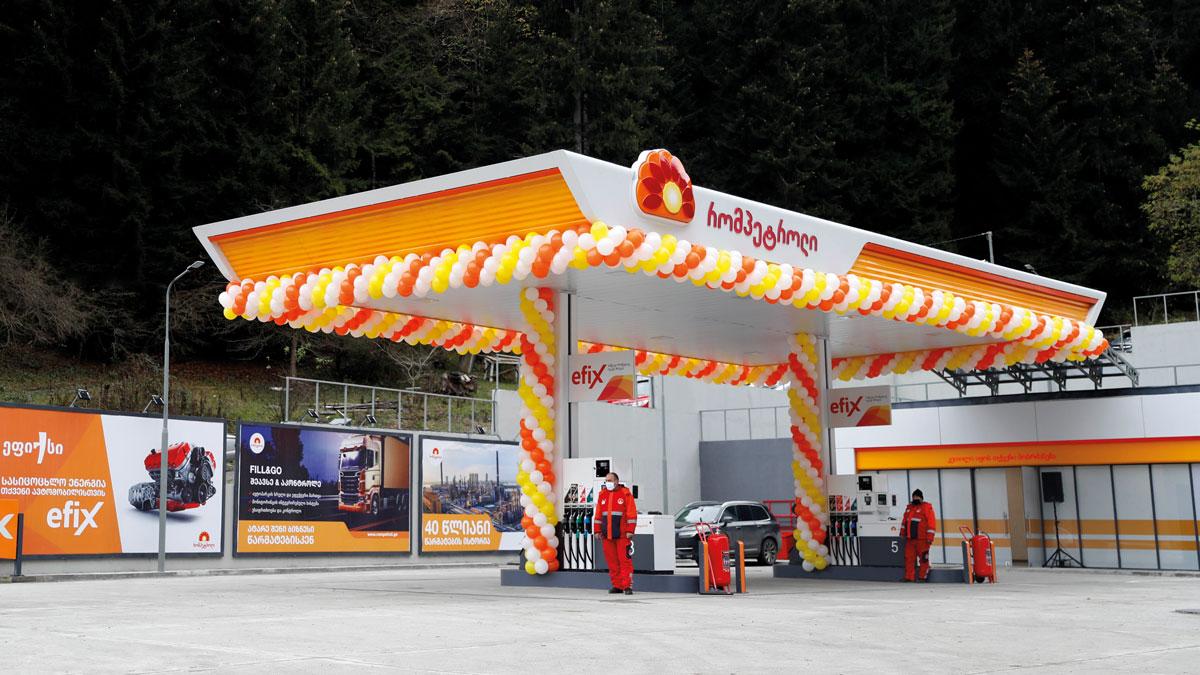 New-Rompetrol-Gas-Station-in-Georgia-Borjomi