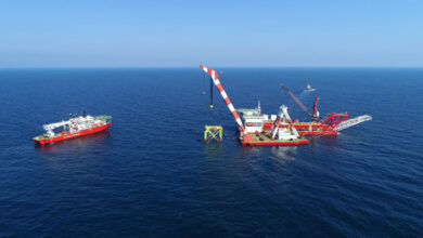 First Jacket in the Romanian Black Sea Block Installed by GSP Teams