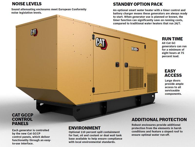 Cat-GC-generators
