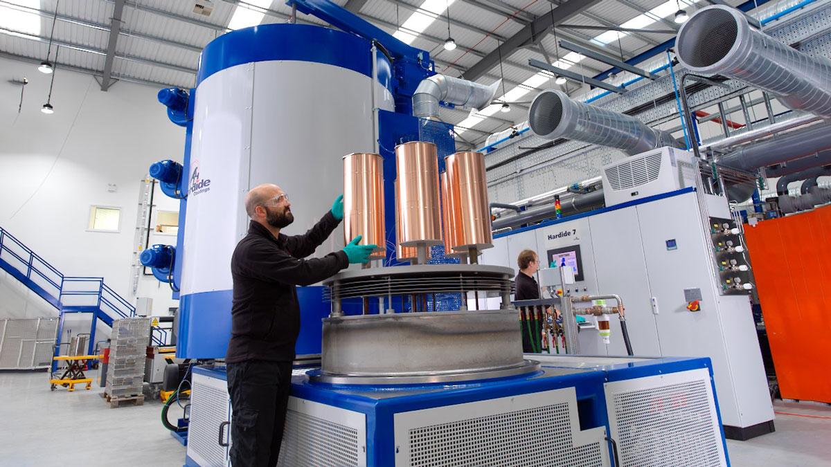 Hardide-Coatings--loading-new-larger-capacity-coating-reactor