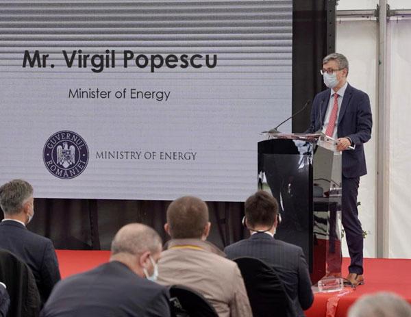 Virgil Popescu, ministrul energiei.