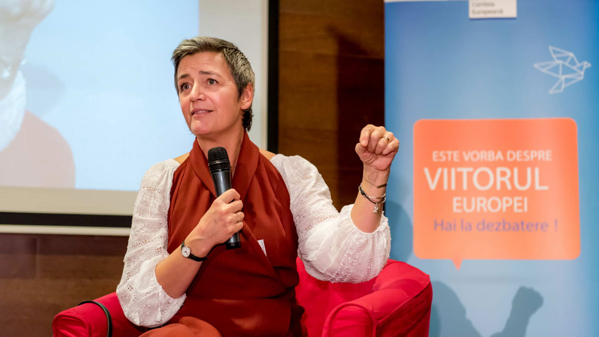 Horizon-Europe-Margrethe-Vestager,-Executive-Vice-President-for-A-Europe-Fit-for-the-Digital-Age