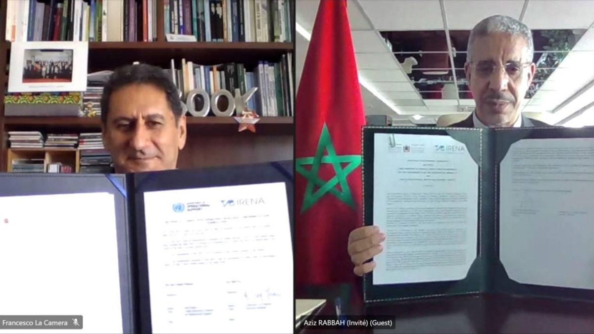 IRENA-to-Boost-Renewables-and-Green-Hydrogen-Development-in-Morocco