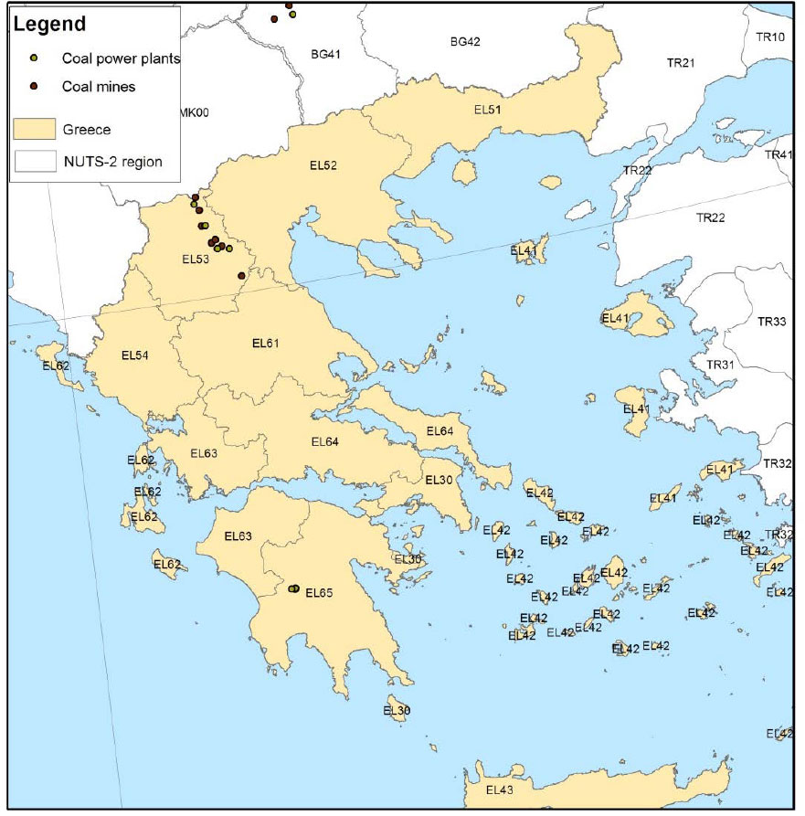 Grece-Coal-map