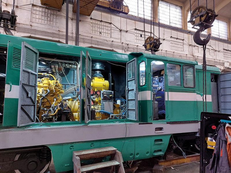 Locomotiva-Remarul