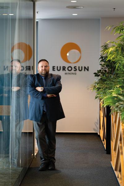 Scott Moore, CEO Euro Sun Mining